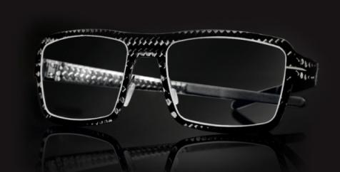 Blac carbon fiber glasses