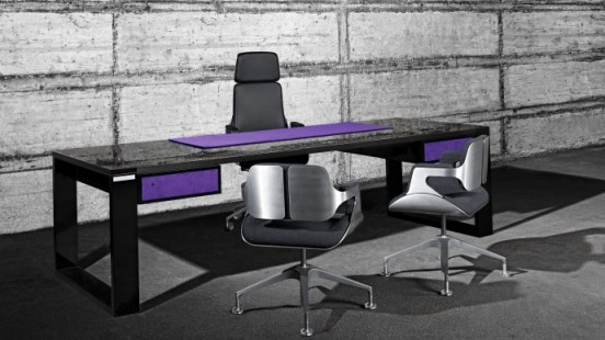 john & table carbon fiber desk