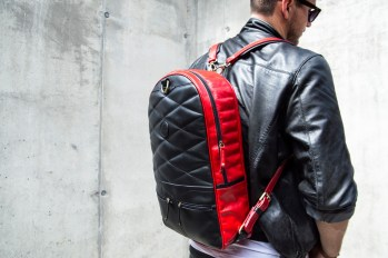 Chivote 2face Backpack Black and Red