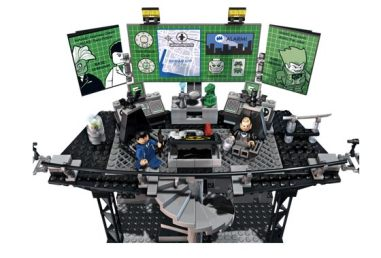 Batman Lego control center
