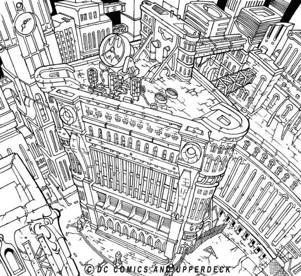 Gotham-police-HQ
