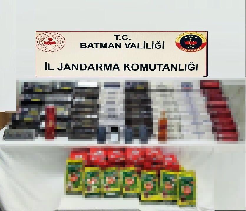 Batman'da kaçakçılık operasyonu