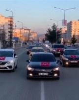MHP'den Gara şehitlerine 200 araçlık destek turu