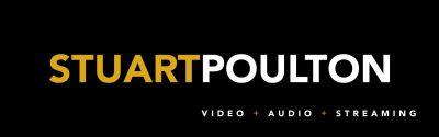 stuart poulton video + audio + streaming logo