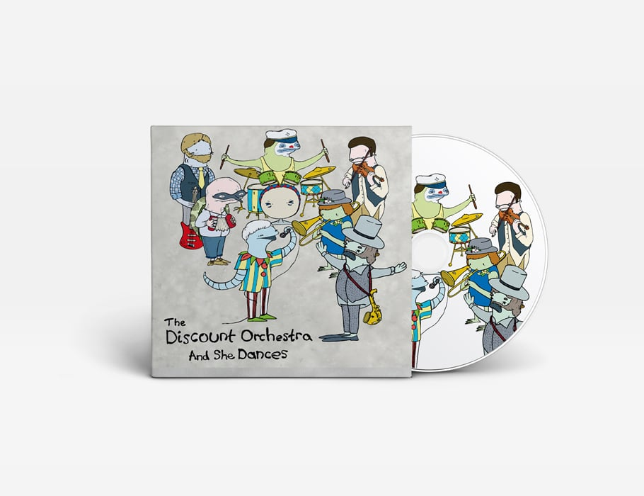 The Discount Orchestra - 'and she dances' - cd