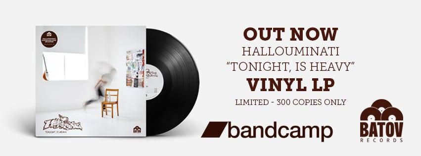 Hallouminati - Tonight is heavy vinyl
