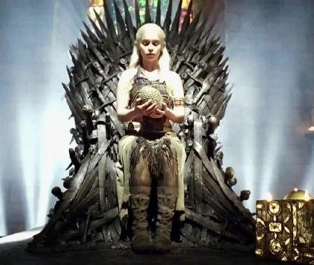 Daenerys Iron Throne