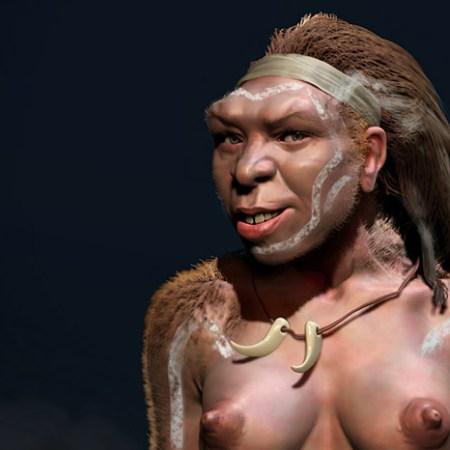 homo heidelbergensis girl