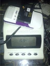 Baterai Idol DX1 1500mah, hasil 1594mAh