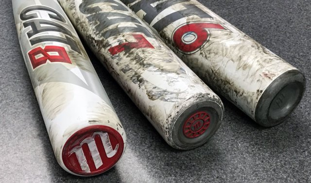 BatReviews com | Marucci Cat 8 vs Cat 7 BBCOR Bats