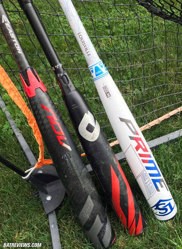 2019 BBCOR Shootout - Prime 919 vs CF Zen vs Easton ADV Bat