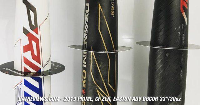 2019 BBCOR Shootout - Prime 919 vs CF Zen vs Easton ADV Bat