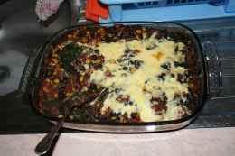 oven-baked mexian quinoa casserole