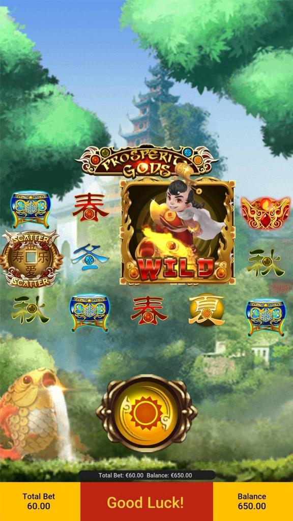 ทดลองเล่นฟรีกับเกมสล็อต Prosperity Gods จากค่าย SPADEGAMING