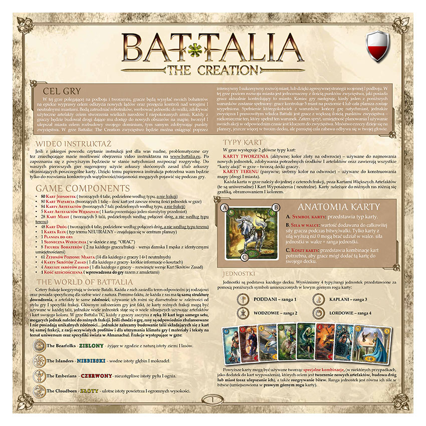 BATTALIA - RULEBOOK OLD - POLISH - WEB v1.1