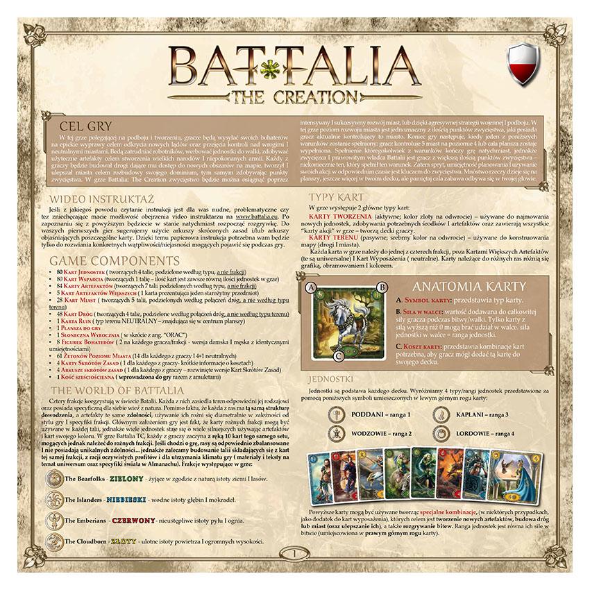 BATTALIA - RULEBOOK OLD - POLISH - WEB v1.1