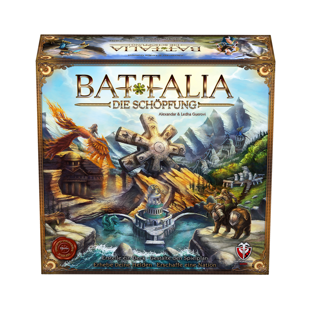 BATTALIA: Die Schöpfung - 3D Box 0 - CEdition 2015 - DE - HQ1500