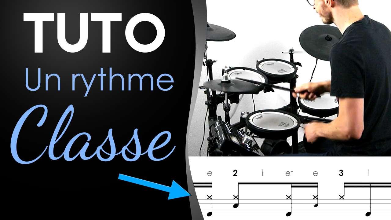 [Tuto] Rythme classe avec ghost note et nuances au charleston