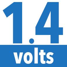 1.4 Volts