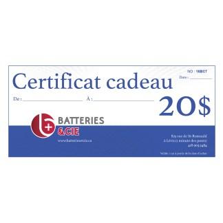 certificat-cadeau batteries et cie levis