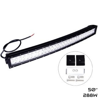 barre led 50 pouce courbe