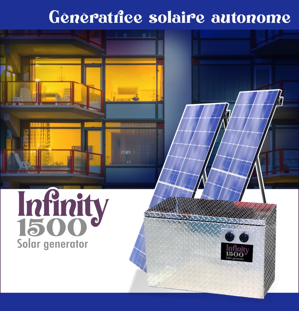 génératrice solaire infinity 1500