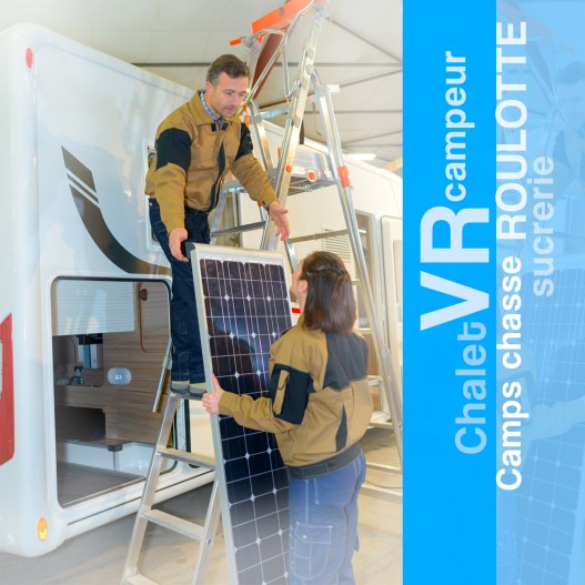 installation-panneau solaire vr chalet roulotte