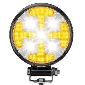 projecteur led clanc stroboscopique ambre