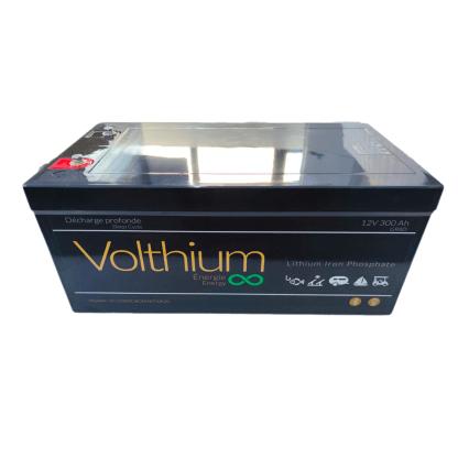batterie volthium 300a 12v bluetooth autochauffante