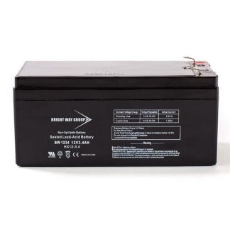 BW1234 batterie alarme