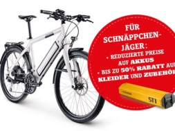 Stromer – Grosser Abverkauf von Demo- und Testbikes