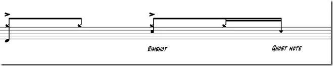 ghost notes deuxième temps 2