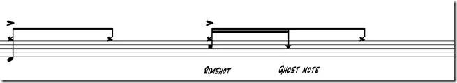 ghost notes deuxième temps 4