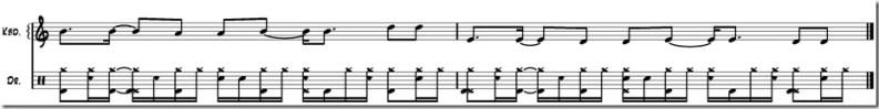 rythme de batterie sans musique variation 3