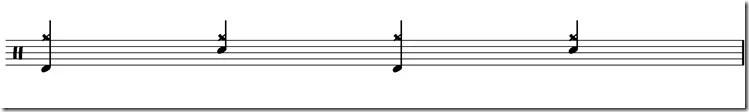 jouer de la battrie accents cymbale rock 2