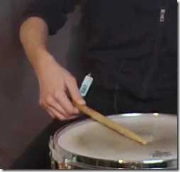 roulement de tambour free hand technique