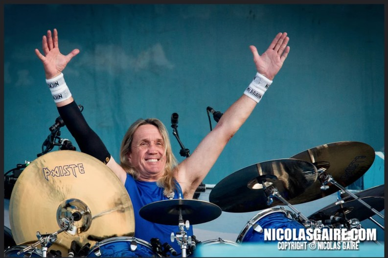 Nicko McBrain concert