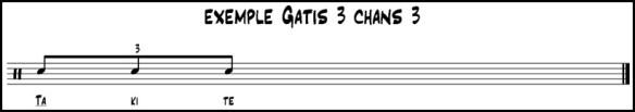 exmple gatis 3 chans 3