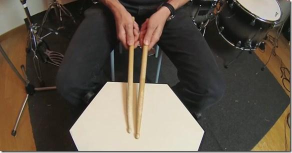 position poignet batterie française