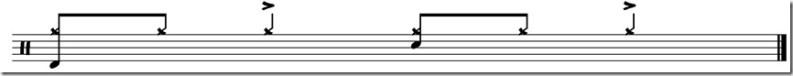jouer de la battrie accents cymbale latin 4