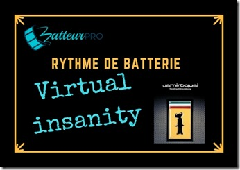 triples coups de grosse caisse virtual insanity batterie