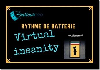 triples coups de grosse caisse virtual insanity batterie