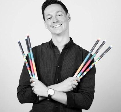 Clément Desplats, créateur des baguettes Vikory