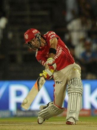Maxwell walloped nine sixes during his magnificent knock of 95