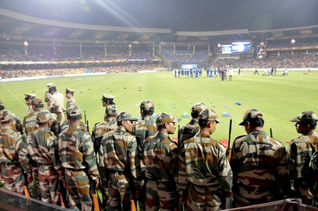 """""""The decision was taken after the Kolkata Police informed the Cricket Association of Bengal and the Kolkata Knight Riders representatives that they would not be in a position to provide security cover at Eden Gardens on May 14"""""""