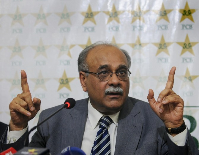 The Pakistan government want Sethi to be in charge of the PCB