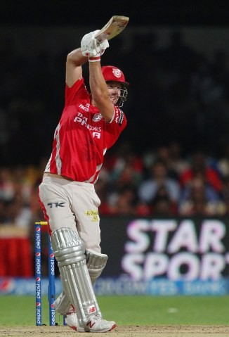 Miller walloped eight boundaries and three sixes during his knock of 66
