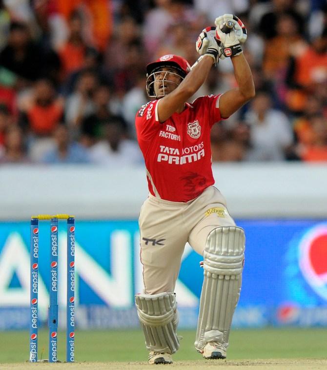 Saha demolished Hyderabad's bowling attack