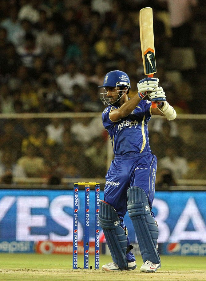 Rahane struck eight boundaries and a six during his knock of 64