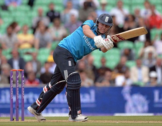 Ballance scored his second ODI half-century